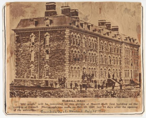 Old Picture of Morrill Hall